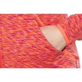 Meru Sitia Polaire Femme, orange muliticolor